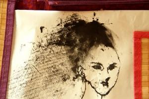 Woman print