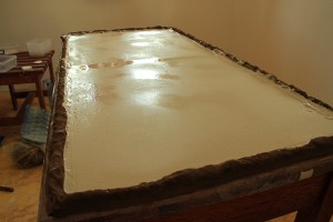 large plaster